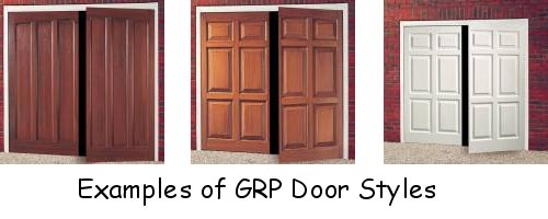 Hinged doors for Premier garage doors
